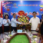 Đồng chí Nguyễn Thanh Hải Phó chủ tịch UBND Tỉnh cùng đoàn công tác đến thăm và làm việc tại Công ty.
