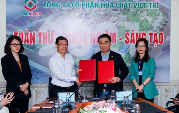 Ký kết thỏa thuận hợp tác giữa  Công ty Cổ phần Hóa chất Việt Trì và Đại học Bách Khoa Hà Nội