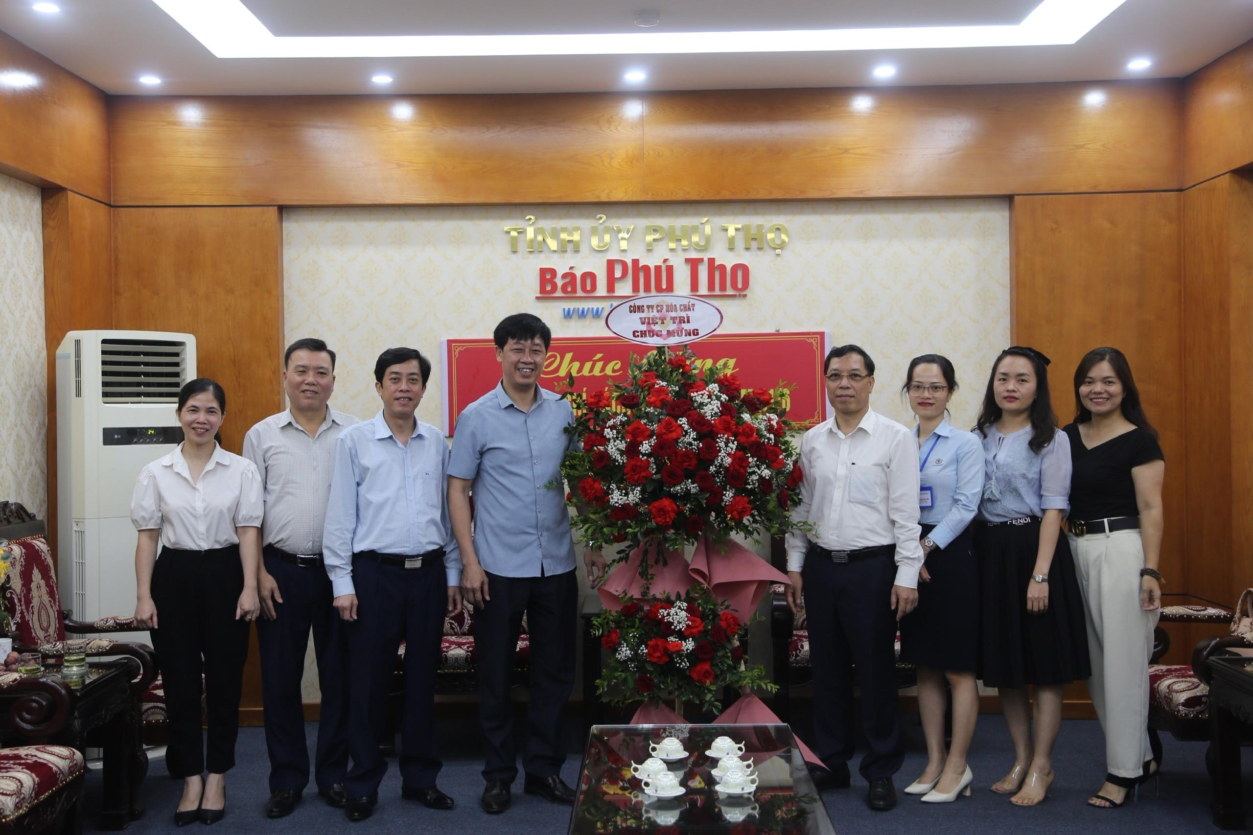 Công ty Cổ phần Hóa chất Việt Trì chúc mừng ngày Báo chí cách mạng Việt Nam