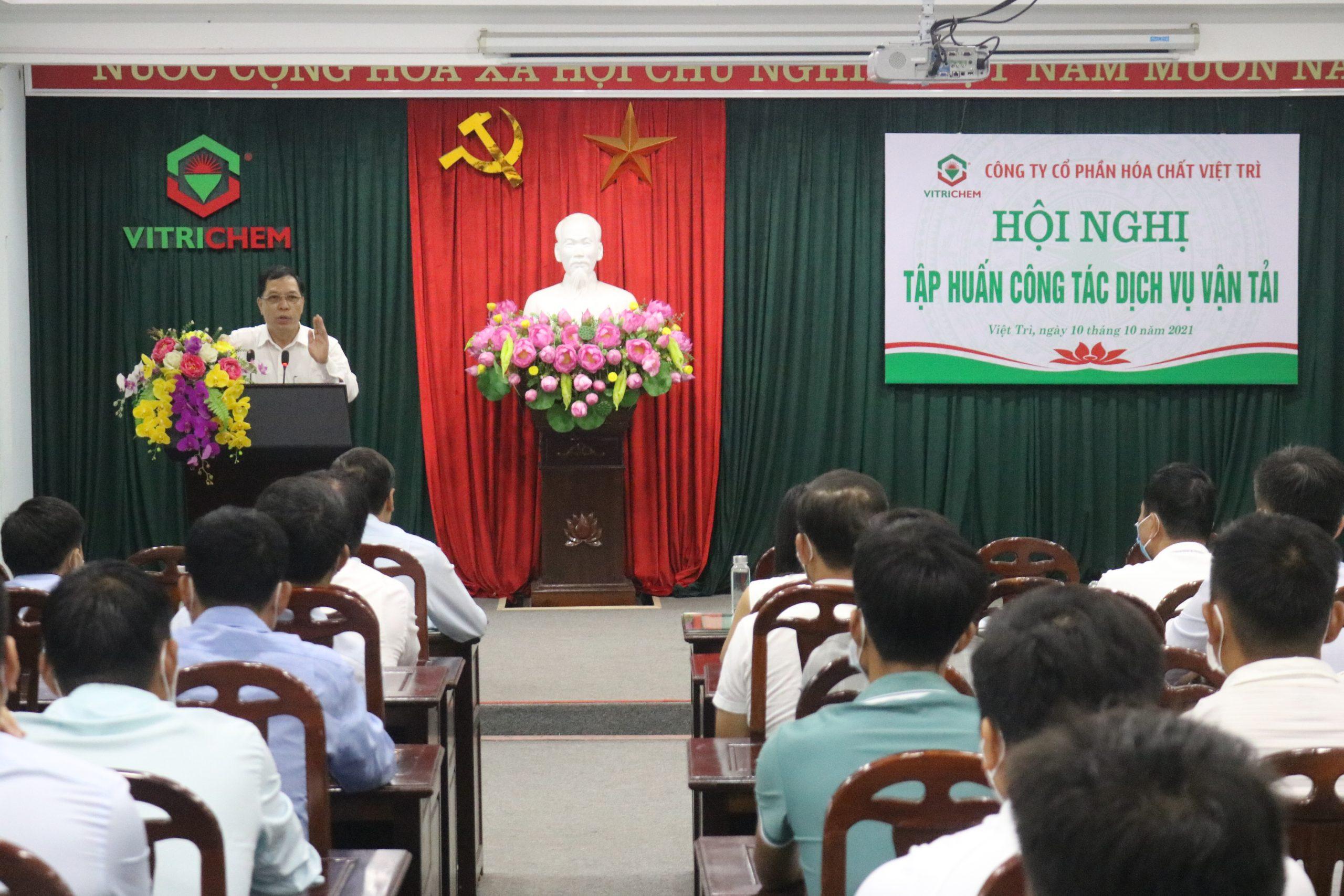 Hội nghị tập huấn công tác dịch vụ vận tải